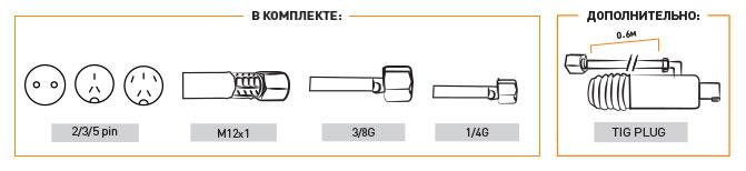 Горелка для аргонодуговой сварки Tig Ts 25