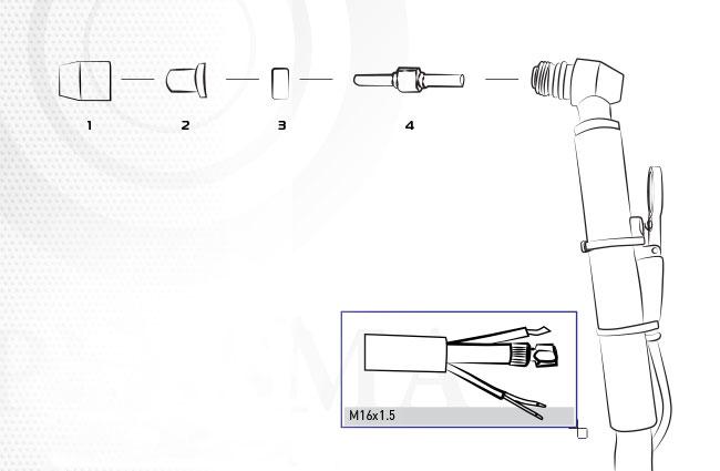 Резак для плазменной резки PT-31