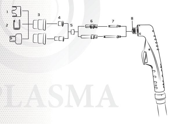 Плазменный резак PT81 сварка