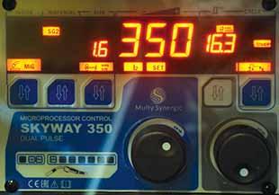 Панель управления SKYWAY 350 DUAL PULSE