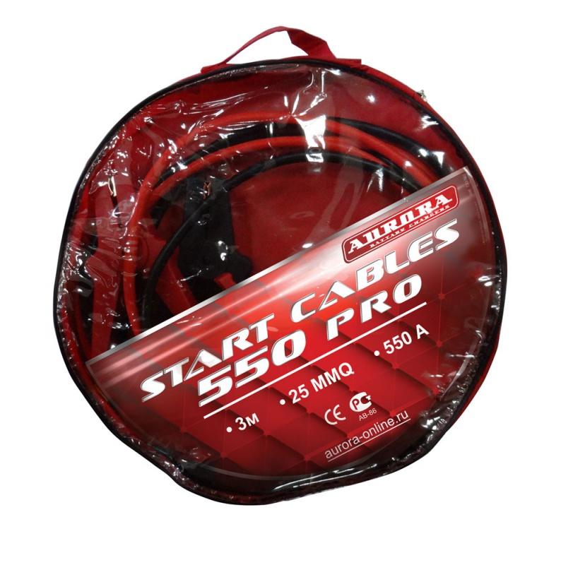 Пусковой кабель START CABLES 550 PRO