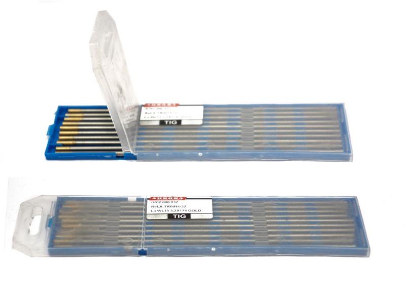 Вольфрамовый электрод WL 15 d 3,2x175mm GOLD