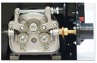 четырех-роликовый подающий механизм