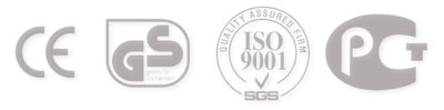 Стандарты СЕ, GS, ISO 9001, PCT