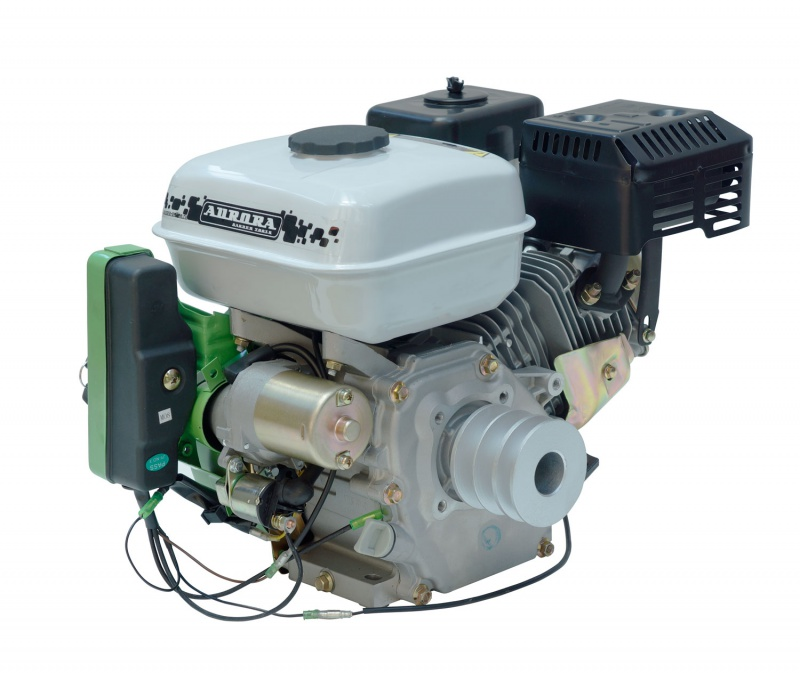 Двигатель АЕ-7D/Р (со шкивом)