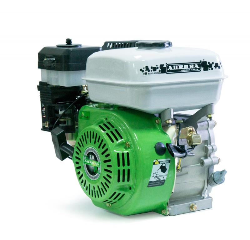 Двигатель АЕ-7/Р (со шкивом)