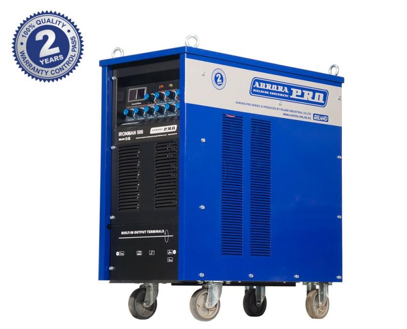 Индустриальный аппарат аргонодуговой сварки AuroraPRO IRONMAN TIG 500 AC/DC PULSE (TIG+MMA)