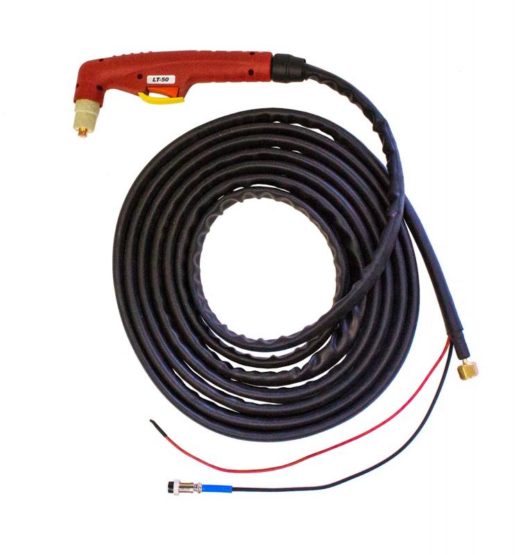 Плазменный резак PT50 (2pin, 3/8G) 6m
