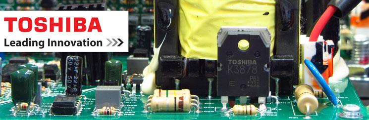компоненты TOSHIBA в плате управления полуавтомата ОВЕРМАН 180