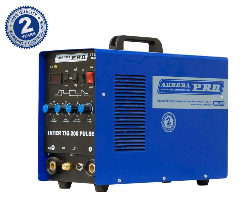 Аппарат аргонодуговой сварки AuroraPRO INTER TIG 200 PULSE (TIG+MMA)